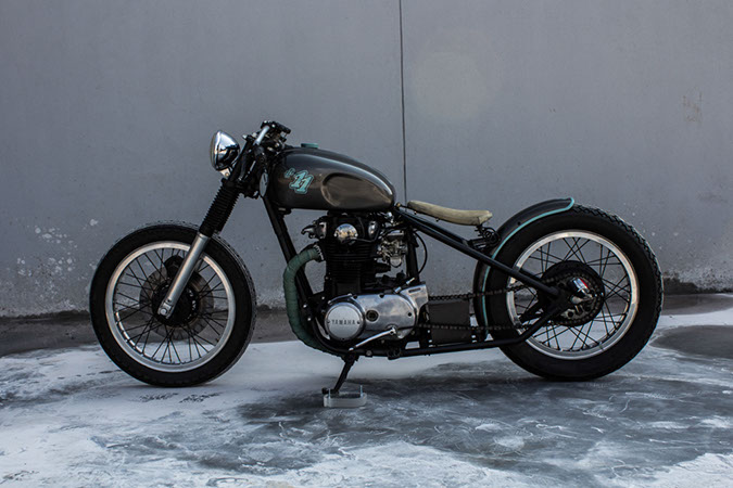 Used Honda Motorcycles >> XS650 Bobber OneOne Customs – AltMotoCult