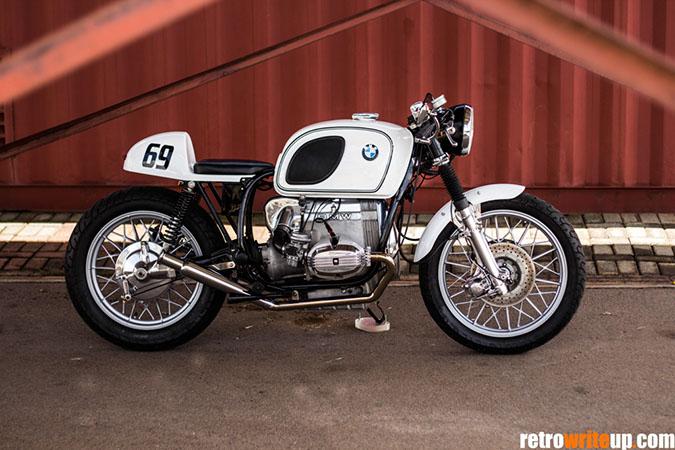Extrem BMW R100 Café Racer - Retro Write Up ER77