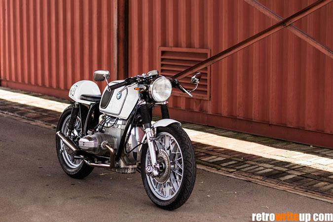 bmw r100 café racer - retro write up