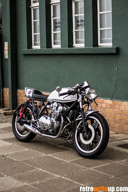 anthonie's honda cb750f café racer - retro write up